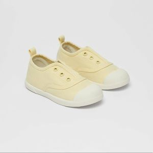 • Zara • Cotton Sneakers with Elastic Strap